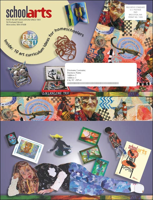 SchoolArts New Control Outer Envelope - Rebecca Sterner
