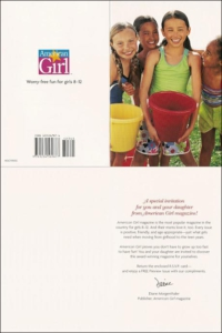 AmericanGirl Greeting Card Package Long Standing Control Greeting Card - Rebecca Sterner