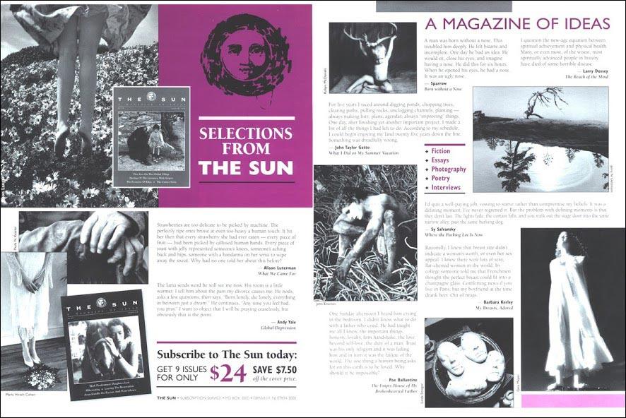 The Sun Direct Mail Test Brochure - Rebecca Sterner