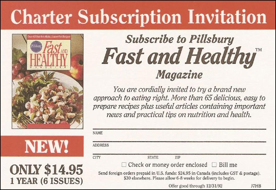 Insert cards portfolio fast healthy charter subscription offer rebecca sterner sisterspd